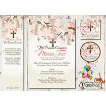30d76670b3d Invitacion De Primera Comunion Kit Imprimible Personalizado en venta en San  Juan Del Río Querétaro por