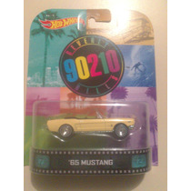 Hot Wheels De Coleccion Retro 65 Mustang Mn4