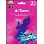 Tarjeta Gift Card Itunes Inglaterra Uk 25£ Iphone Ipad Ipod