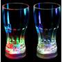 10 Vasos Led, Foco Led, Lampara China Led Multicolor