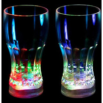 10 Vasos Led, Foco Led, Lampara China Led Multicolor