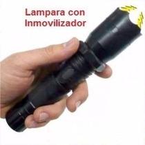 Lampara Stun Gun Taser Paralizador Inmovilizador Muy Potente