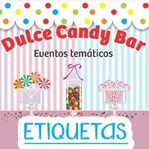 Kit Candy Bar Personalizado Etiquetas