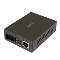 Convertidor De Medios Ethernet Gigabit Rj45 A Fibra Óptica S