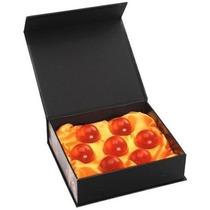 Siete Mini Esferas De Dragon Ball Con Caja Exhibidor W2014