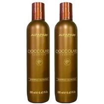 Duo Alfaparf Shampoo Ciocolatto Chocolate Nutricion 2x250ml
