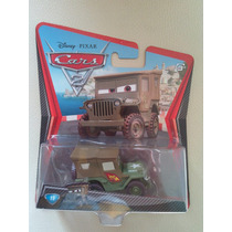 Disney Pixar Cars - Race Team Sarge - Nuevo - Ag