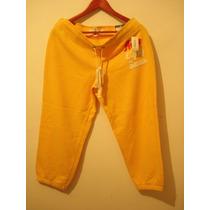 Pants Deportivo Mujer Aeropostal (amarillo) Capri !!!!!!!!
