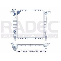 Radiador Ford Ranger 85-95 2.9 3.0 Mv6 Automatico