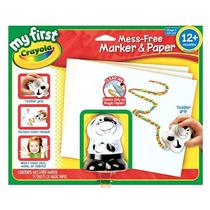 Crayola Mi Primer Lío-libre Marker Y Papel Set