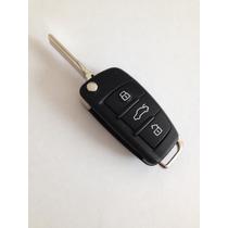 Llave Audi Completa Con Forja Original De Audi