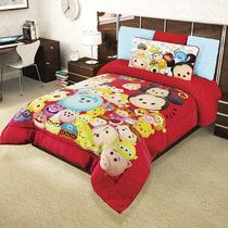 Cobertor Matrimonial Tsum Tsum Rev Borrega Mca. Providencia