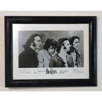 The Beatles - Cuadro 40 X 53 Cm / Cristal Anti-reflejante