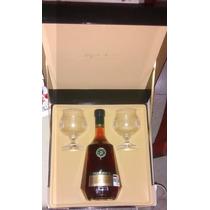 Botella Con Estuche Y Copas Brandy Imperial Torres 20