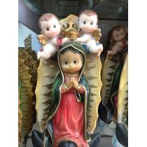 Virgen De Guadalupe Caricatura De Resina