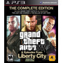 Grand Theft Auto Iv & Episodes From Liberty Complete Ps3