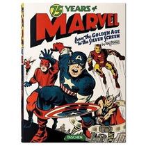 Exclusivo Libro 75 Years Of Marvel Comics Edición Importada