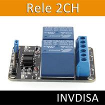 Modulo De Relevadores Relay De 2 Canales, Arduino, Pic, Avr