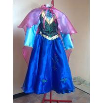 Vestido De Princesas De Disney Anna De Frozen Para Niña