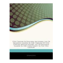 13th Century In Religion, Including: List, Hephaestus Books