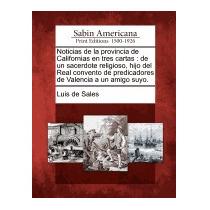 Noticias De La Provincia De Californias En, Luis De Sales
