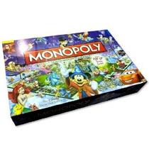 Disney Monopoly Juego Tercera Edición