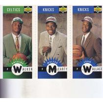 1996-97 Choice Mini Antoine Walker Mccarty Wallace