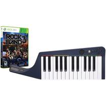 Teclado + Juego Rock Band 3 Piano Nuevo 360 Blakhelmet E