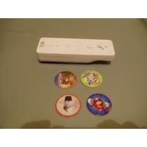 Pistola Lanza Discos Wii Remote Con 4 Discos