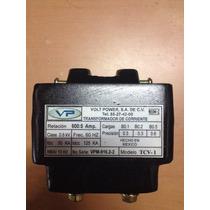 Transformador De Corriente, Volt Power, Modelo Tcv-1 600amp