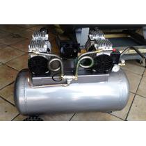Compresor Roger`s Silencioso 120 Lts 2.hp. 4 Pistones 110 V