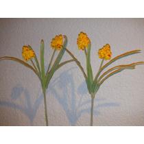 2 Tallos De Flores Artificiales Para Arreglo