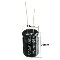 Capacitor Electrolitico 2200 Uf 25v