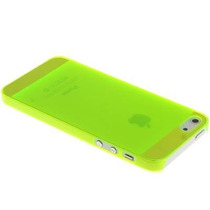 Carcasa Funda Crystal Case Jacket Iphone 5 Y 5s Verde Neon
