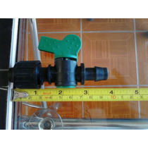Valvula Plastica Inicial Pvc - Cinta 16mm Con Gomita