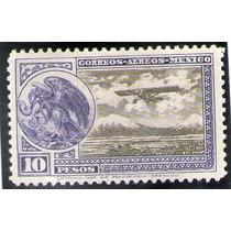 México, Avión Escudo 10p 1929