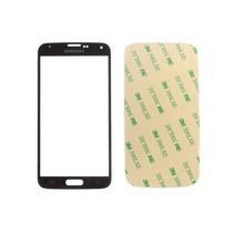 Cristal Vidrio Frontal Genérico Galaxy S5 Negro + 3m Gratis