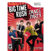 Big Time Rush Dance Party Usado Wii Original Blakhelmet C