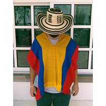 Ponchos Tejidos Colombianos