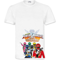 Playera O Camiseta Power Ranger Megaforce 100% Calidad