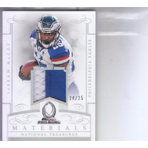 2014 National Treasures Probowl 2clr Jersey Lesean Mccoy /25