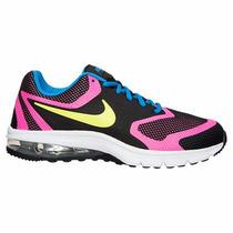 Tenis Dama Nike Air Max Premier Run Running Negro Rosa