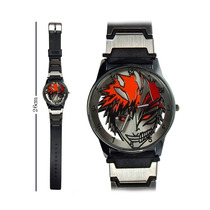 Reloj De Mano Bleach Naruto Sinsajo One Piece Correa Delgada