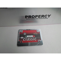 Porta Placa Matricula De Moto Chooper Metalico