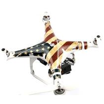 Sticker Retro Us Flag Para Drones Dji Phantom