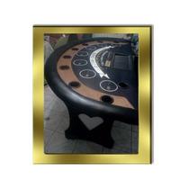 Mesa De Casino Tipo Las Vegas De Lujo, Black Jack, Poker