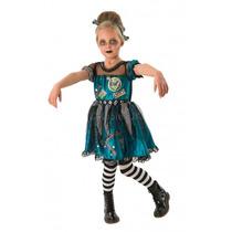 Monster High Traje - Frankie Stein Girls Medio Fantasía