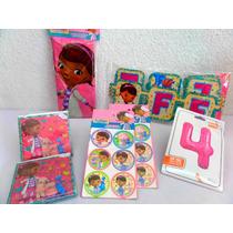 Paquete Complementos Dra Juguetes Disney Desechables Fiesta