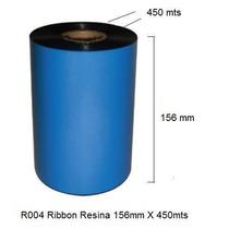 R004 - Ribbon Resina 156mm X 450 Mts