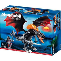 Playmobil 5482 Dragón Negro Con Luz Led Play-go Toys